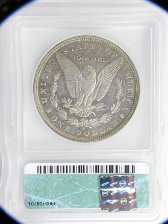 756: 1887-S/S $1 Morgan Silver Dollar ICG-EF40 - 2