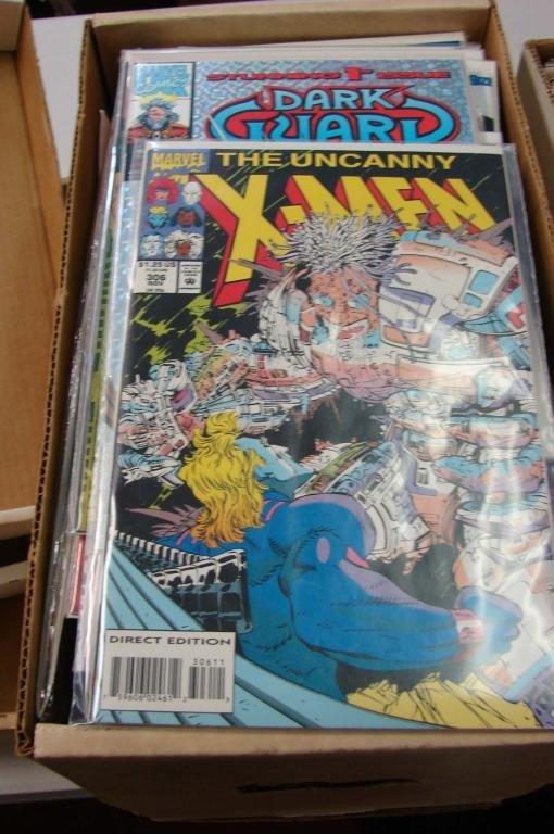 1: Box lot  Approx. 100 Assorted Comics