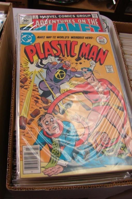 2: Box lot approx. 75-100 Assorted Comics