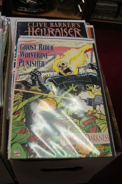 3: Box lot approx. 100 Assorted Comics