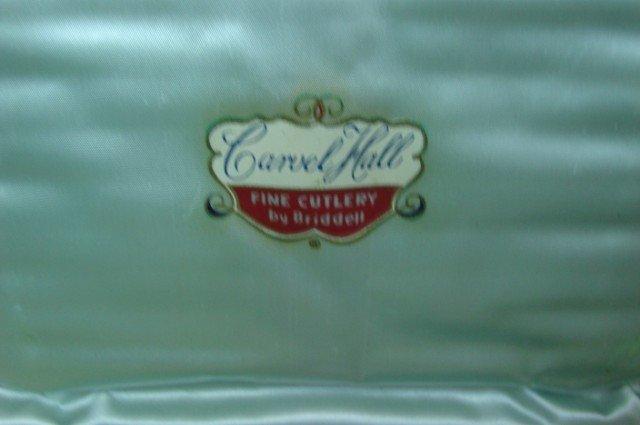 13: 12 Bone Handle Steak Knives by Carvel Hall - 3