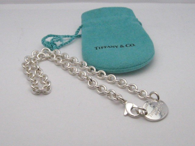 """18A: Tiffany & Co. """"Return To"""" Necklace"""