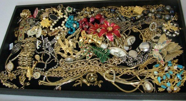 2: Huge Lot of  Assorted Costume Jewelry