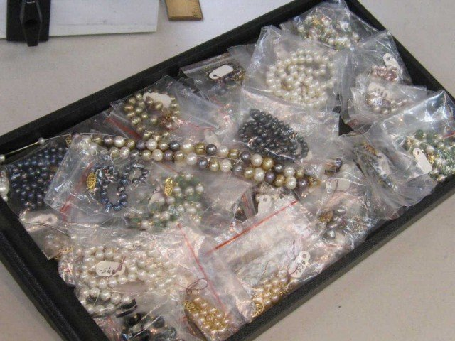 1: Lot of freshwater pearl jewelry NEW