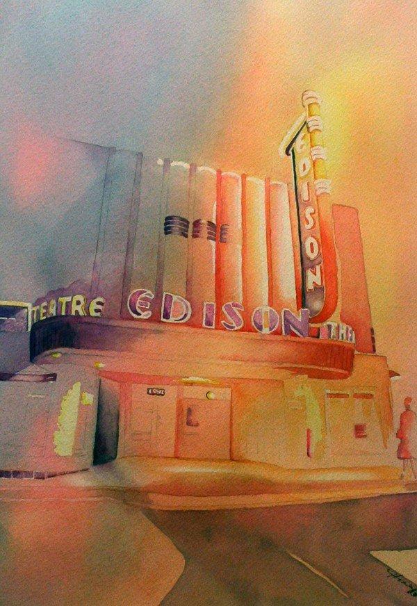 "502: ""Edison Theatre"" by Honey Costa"