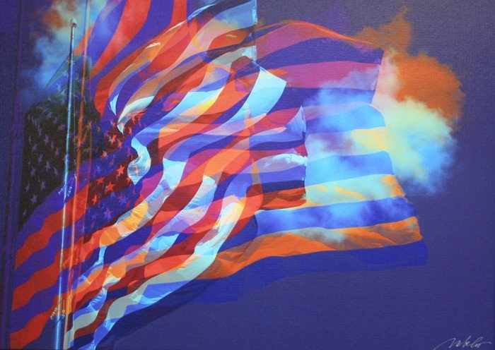 """508: """"Our Flag"""" by Manfred Behr"""