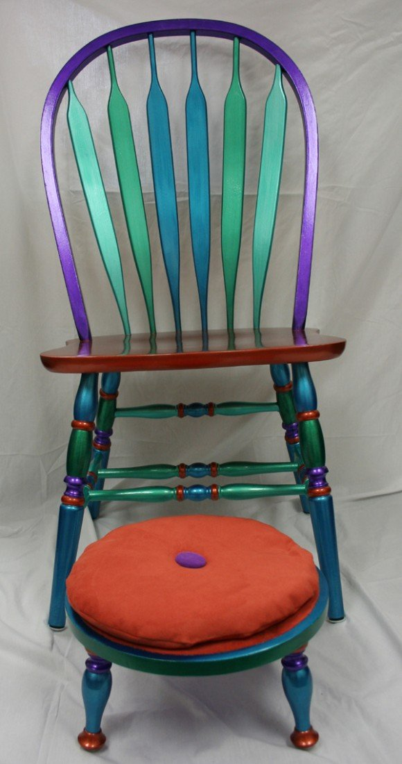 """512: """"Foot Loose and Chair-ity"""" by Lisa Hopkin"""