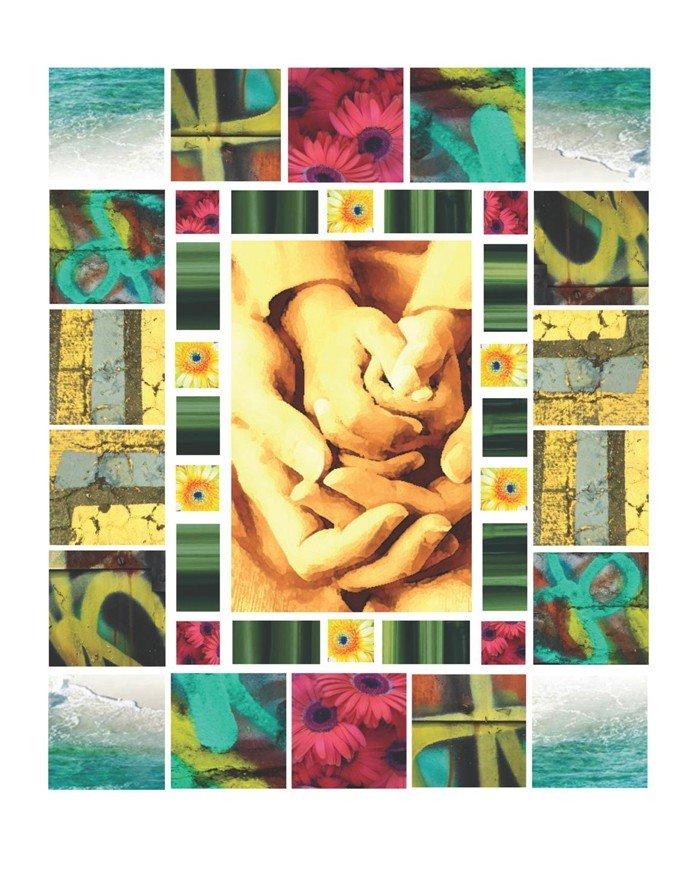 "519: ""Love Shouldn't Hurt Quilt"" by Jeffrey Scott Lewis"