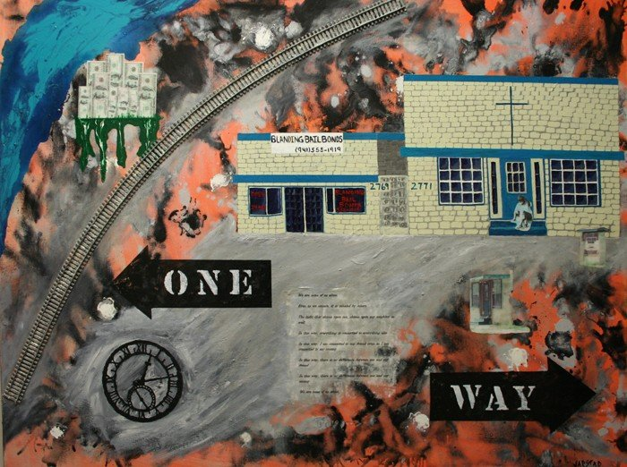 "522: ""Tracks and Paths"" by Karen Jarstad"