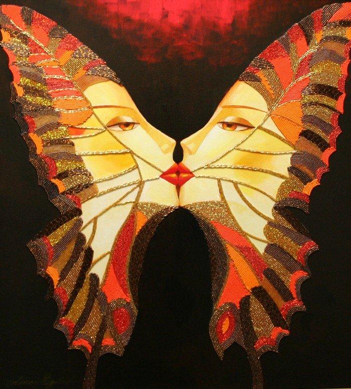 """523: """"Butterfly Kiss"""" by Alina Eydel"""