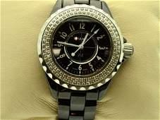 207: Chanel J12 diamond watch