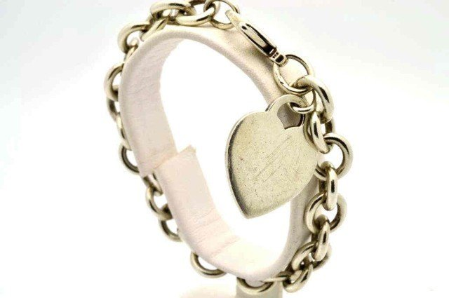 12: Sterling bracelet by Tiffany & Co