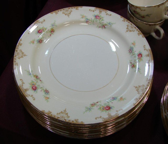 133A: Eggshell Nautilus China Svc. for 10 - 2