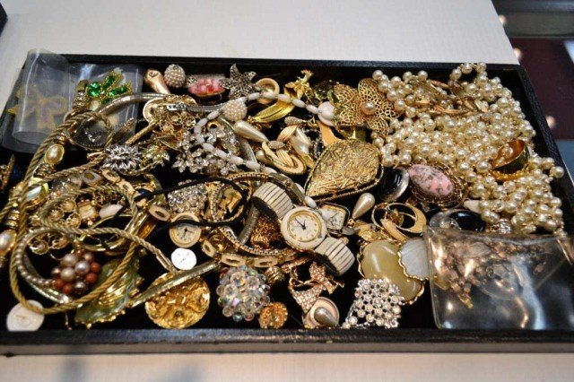 3: Lot of costume jewelry some vintage