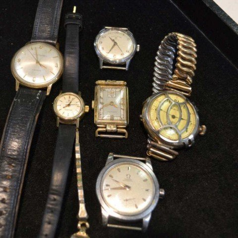 5: Lot of vintage watches