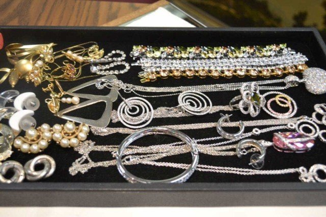 6: Lot of sterling & costume jewelry
