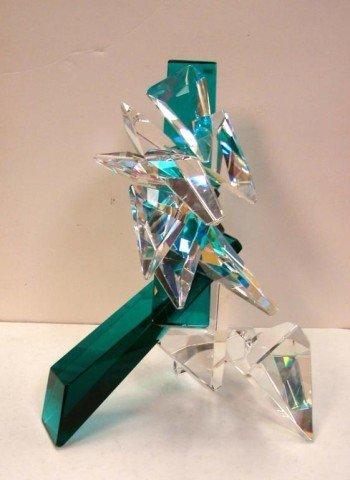 161: Original Art Glass Sculpture by Grant Miller