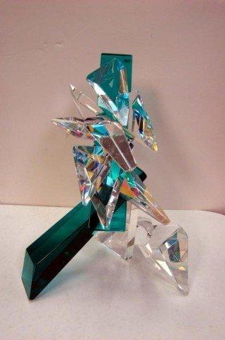 161: Original Art Glass Sculpture by Grant Miller - 2