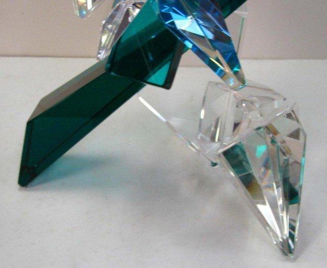 161: Original Art Glass Sculpture by Grant Miller - 3