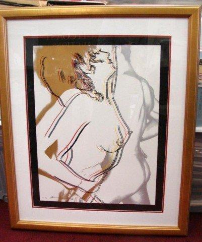 90A: Andy Warhol HC Print Love (Feldman & Schelmann II