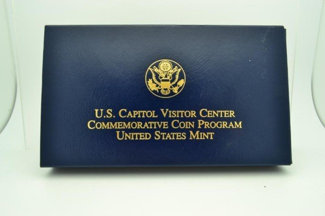 "8I: 2001 Capital Visitor Center G$5 UNC "".24""AGW"