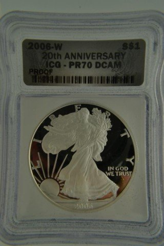 15G: 2006-W/P 20th Anniversary 3Pcs Perfect Coin Set