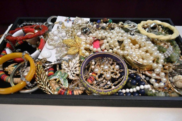 2: Lot of costume jewelry, Trifari