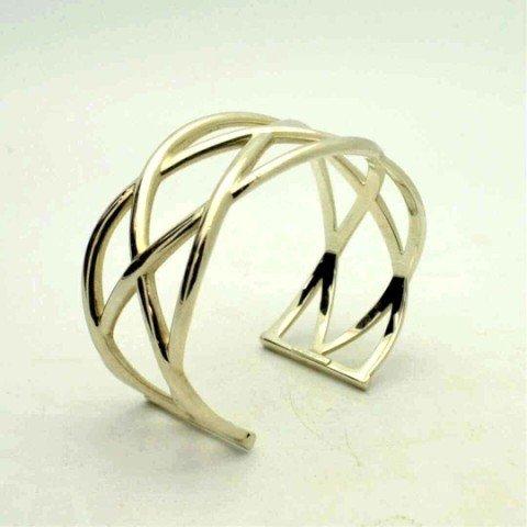 5: Sterling cuff by Tiffany & Co