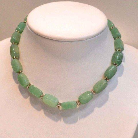 6: Jade bracelet & necklace