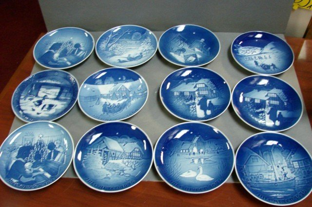8: Bing & Grohdahl Xmas Plates 1969-77