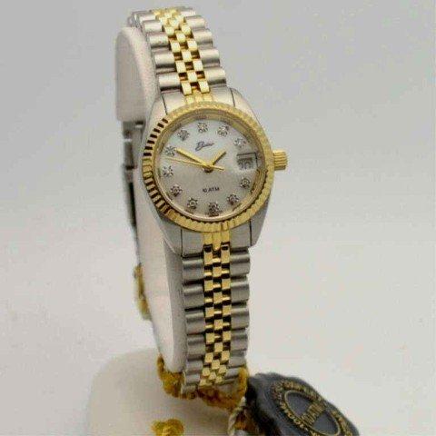 3A: Lady's 2tone Belair diamond watch