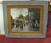 50 Original Oil Francis Gerome La Madelaine