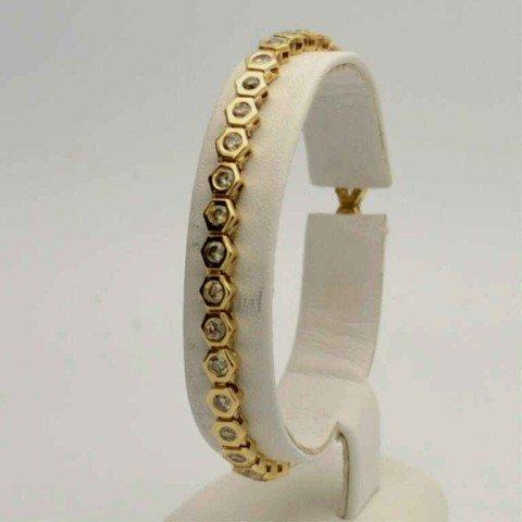 5: 14kyg diamond bracelet 3ctw