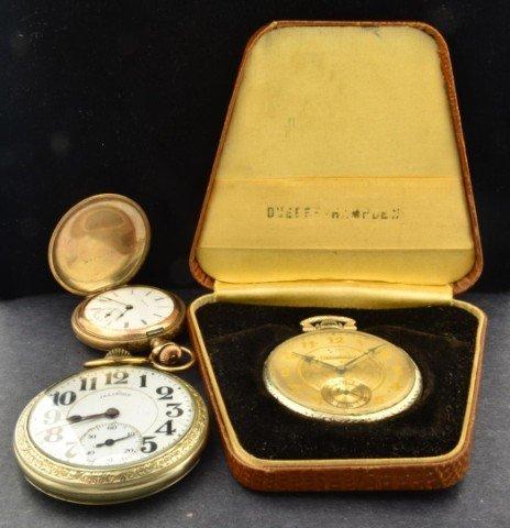 9: Three Pocket  Watches