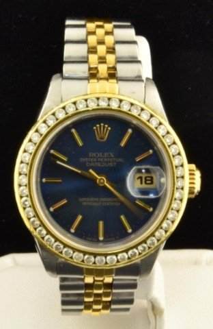 18: Ladies Rolex / Two tone Date Just
