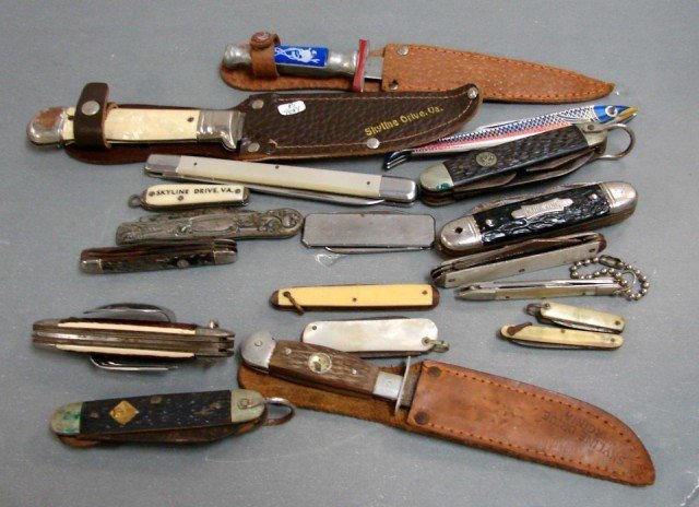 2: Lot of  18 Vintage Pocket Knives