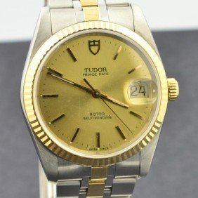 Man's  Tudor Stainless Watch