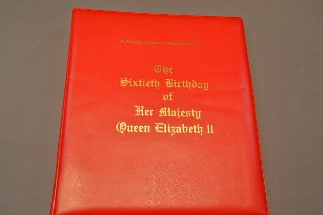 441: Mint Stamp Coll Com. 60th Birthday of Queen Eliz.