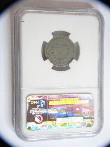 553: 1885 5c Liberty Nickel NGC Good Details OBV I/C - 2