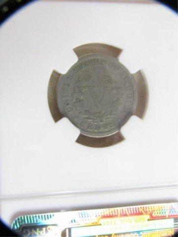 553: 1885 5c Liberty Nickel NGC Good Details OBV I/C - 4