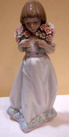 "Lladro Society Piece ""Spring Bouquets"""