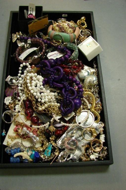 2: Box Lot of Costume Jewelry