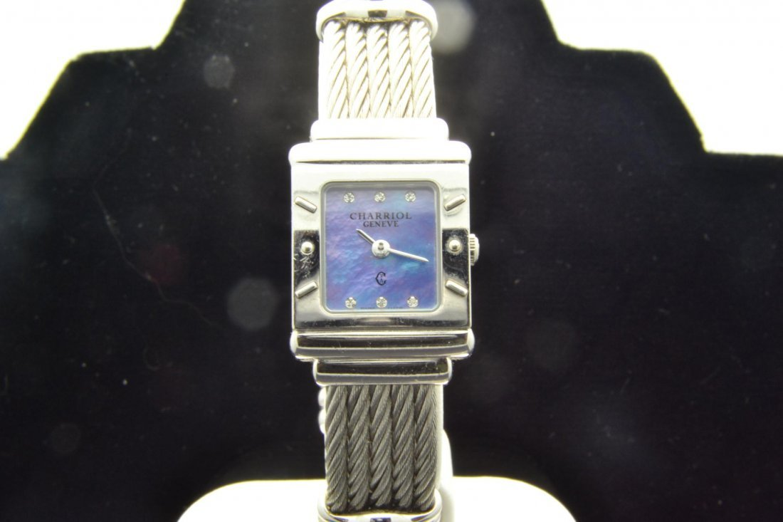 6: CHARRIOL Lady's Sterling Silver Watch