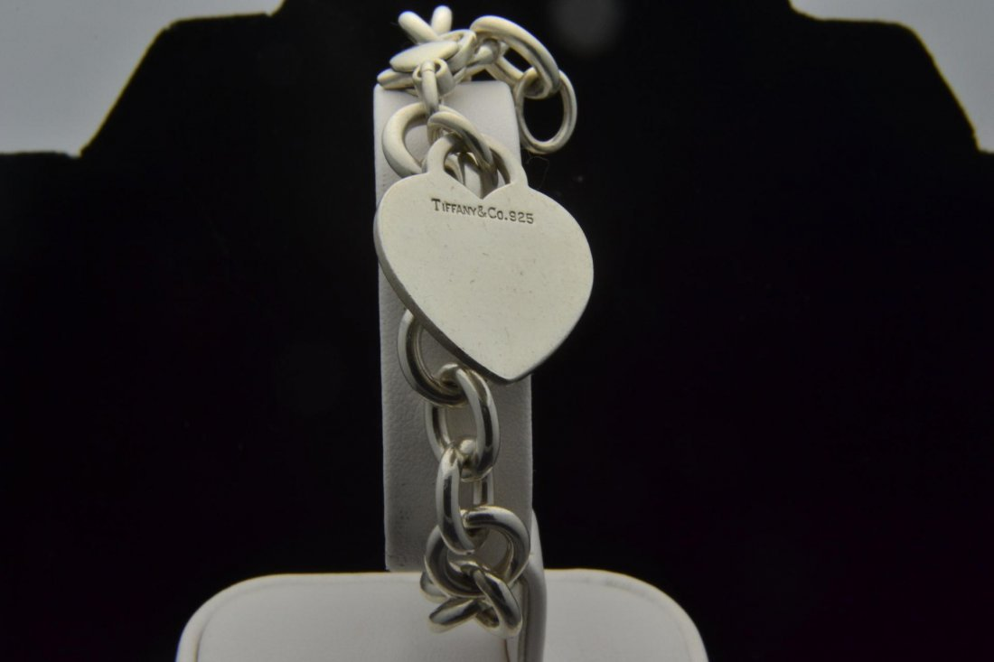 8: Tiffany & Co. 925 Silver Link  Bracelet