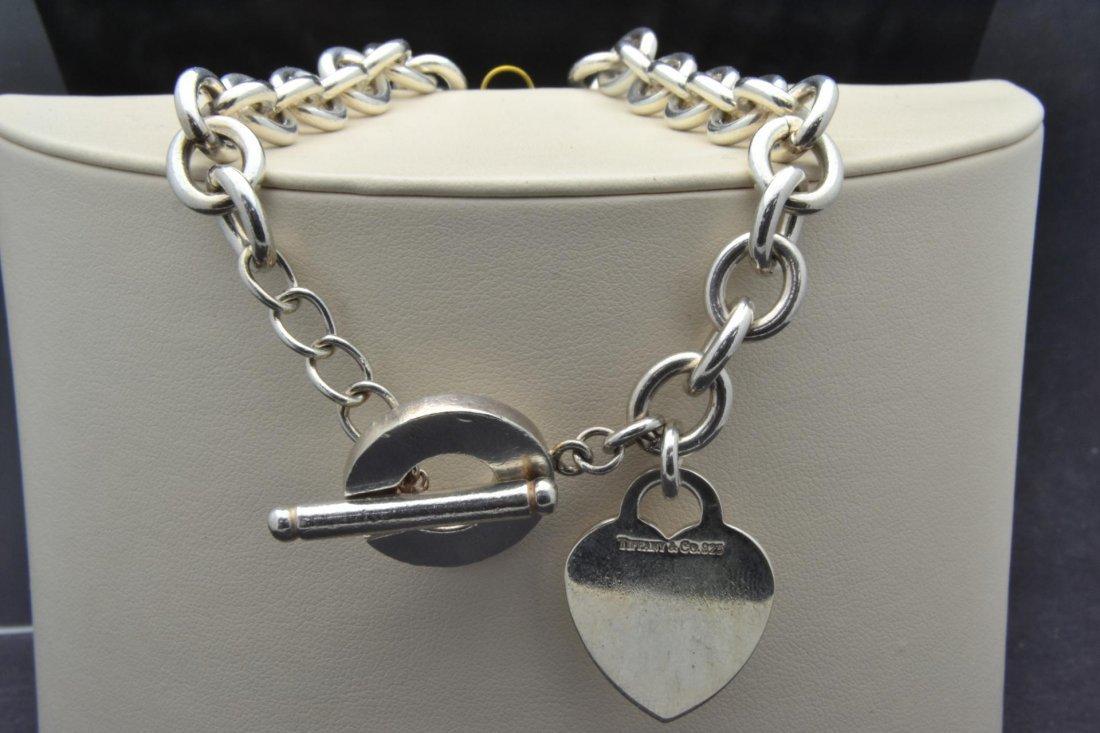 18: Tiffany & Co. 925 Silver Necklace