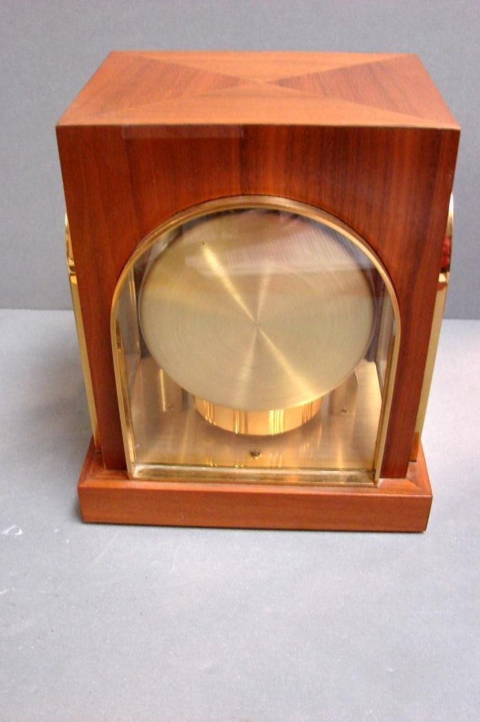 100: Gruen Atmos Clock Jaeger LaCoultre - Wood Case - 2