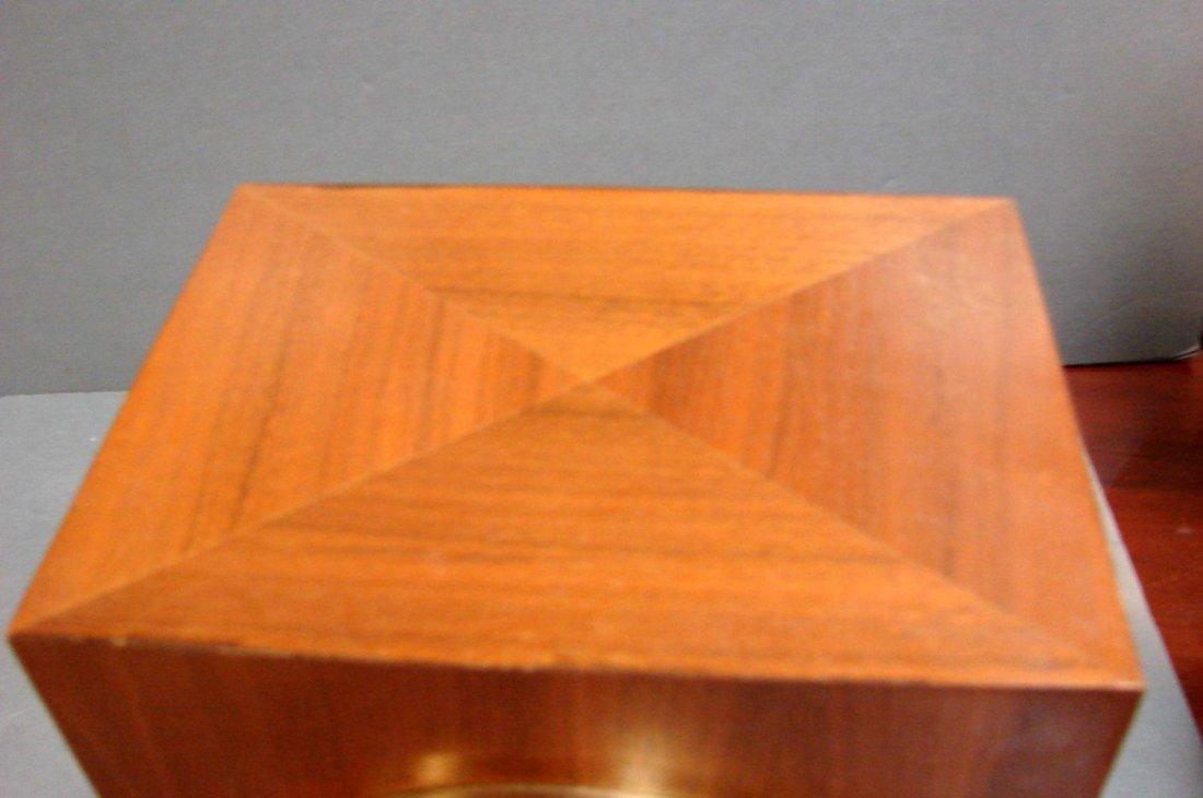 100: Gruen Atmos Clock Jaeger LaCoultre - Wood Case - 6