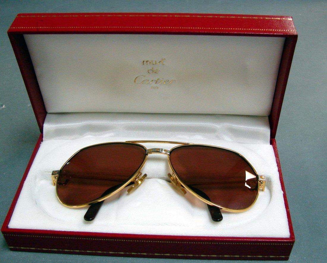 123: Men's Cartier Sunglasses #130