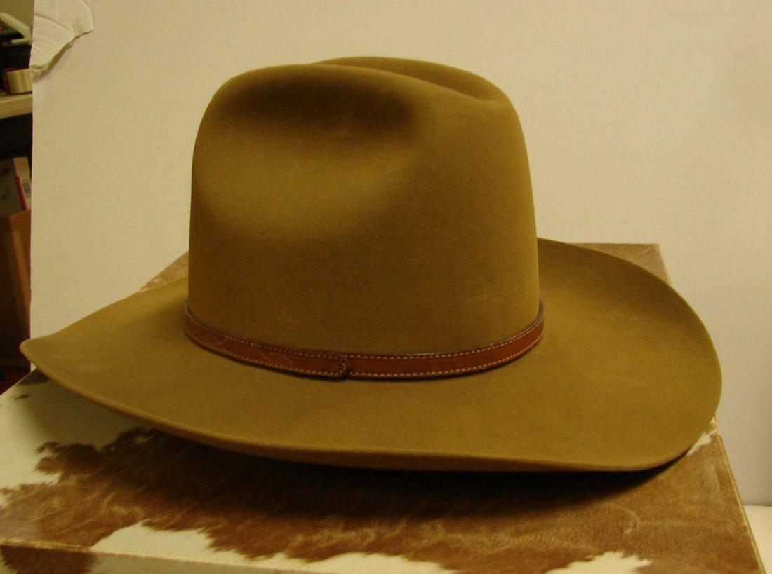 141: Resistol 4X Beaver Cowboy Hat - Size 7 1/2