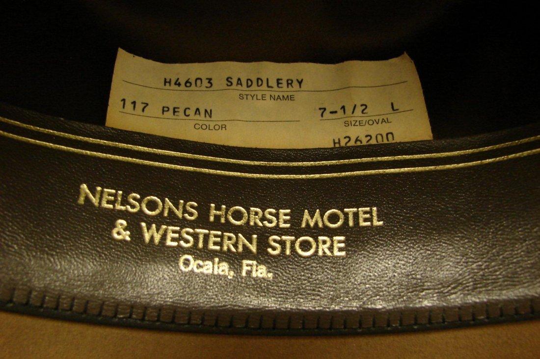 141: Resistol 4X Beaver Cowboy Hat - Size 7 1/2 - 3